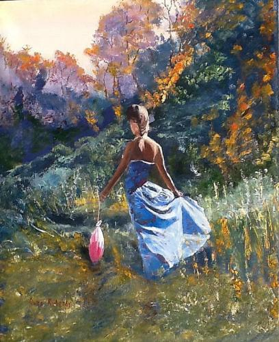 Painting - Lady